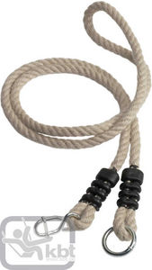 Kbt - rallonge de corde en chanvre synthétique 0,85m à 1 - Agrès