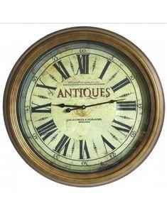 L'HERITIER DU TEMPS - grande horloge murale antiques ø 62cm - Horloge Murale