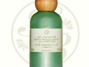 Savonnerie De Bormes - gel douche, bain moussant - chèvrefeuille - 250 ml - Gel Douche