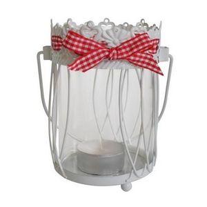 CÉCILIA - lanterne photophore ronde esprit campagne - cécili - Photophore