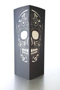 W-LAMP - skull - Lampe À Poser