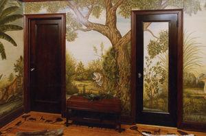 Iksel -  - Peinture Murale