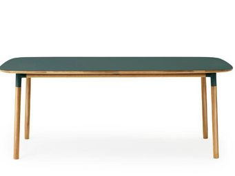 Normann Copenhagen - form table - Table De Repas Rectangulaire