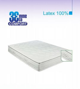 ECO CONFORT - matelas eco-confort 100% latex 7 zones 140 * 190 - Matelas En Latex