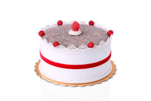 ROSSO CUORE - fancy cake alla lavanda colore bianco - Parfum D'intérieur