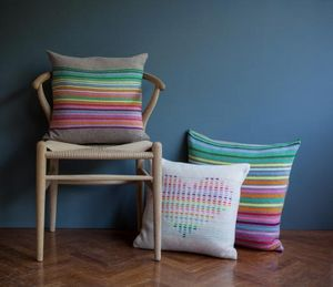 ROW PINTO KNITWEAR DESIGNS -  - Coussin Carré