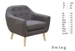 MEBLE PERFECT - swing - Fauteuil Club