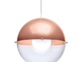 Koziol - orion - suspension transparent/cuivre ø32,7cm | su - Suspension