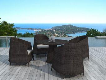 Delorm design - salon de jardin design - Table De Jardin Ronde