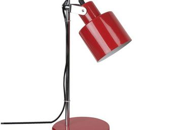 Corep - vintage - lampe de bureau rouge | lampe à poser co - Lampe De Bureau