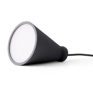 MENU - bollard - lampe baladeuse gris foncé h13cm | lampe - Lampe À Poser