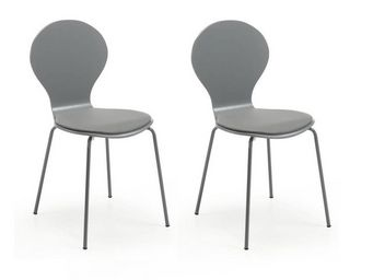 MyCreationDesign - anvers gris - lot de 2 - Chaise
