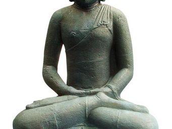 STATUES DU MONDE - statue bouddha assis en méditation - Statuette