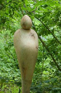 ROBERT ARNOUX - femme enceinte - Sculpture