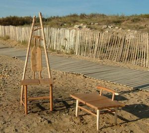 ALAIN DUPASQUIER - grenette - Chaise De Jardin