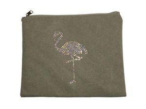 BYROOM - flamingo, rhinestone - Housse Ipad