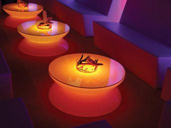 Moree - lounge led pro accu - Table Basse Lumineuse