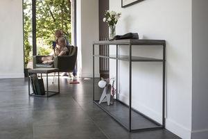 LYON BÉTON - perspective console with shelf - Console Avec Étagère