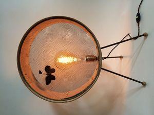 VIEUBLED BENOÎT - tamis tripode - Lampe À Poser