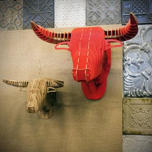 ALFONZ - tête taureau - Décoration Murale