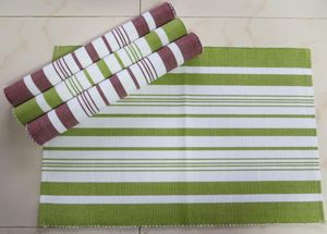ITI  - Indian Textile Innovation - stripe - Set De Table