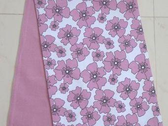 ITI  - Indian Textile Innovation - flowers - Chemin De Table