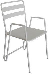 Delorm design - chaise en métal envy (lot de 2) - Fauteuil De Jardin