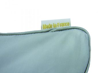 BAILET - coussin déco graphique - 30x50 cm - vert d'eau & - Coussin Rectangulaire