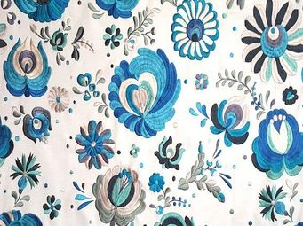 KARIN SAJO - 'flower power - Tissu D'ameublement