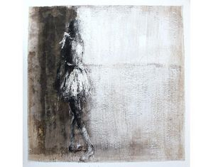 HANNA SIDOROWICZ - hommage à degas - Tableau Contemporain