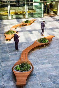 Alexis Tricoire - Tricoire Design - ..botanic twist - Banc Urbain