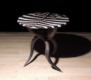 AFRICAN GALLERY -  - Table Basse Ronde