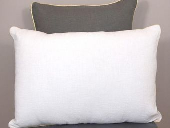 nuance pivoine - bianca doré-- - Coussin Rectangulaire