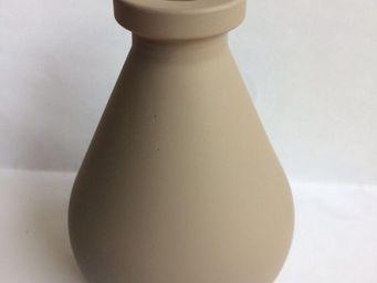Drake - vase diffuseur de parfum taupe - Vase À Fleurs