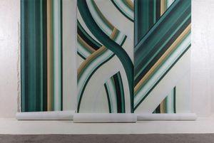 4Spaces - stripe tease-- - Papier Peint