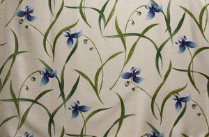 Belinac - orchis - Tissu D'ameublement