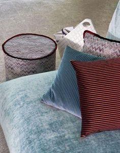 Missoni Home - copper geranium - Tissu D'ameublement Pour Siège