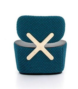 RICHARD HUTTEN - x-chair - Fauteuil Bas