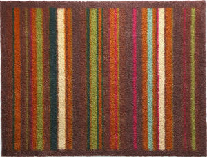HUG RUG - tapis en fibres naturelles à rayures 65x150 cm str - Paillasson