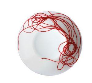 TAITÙ - fil rouge nodi - Assiette Creuse