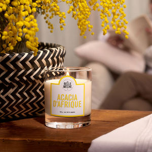 LA BELLE MECHE - acacia d'afrique - Bougie Parfumée