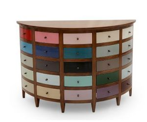 Marie France - chest nadine - Commode Demi Lune