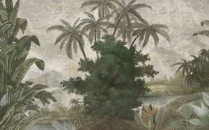 Ananbô - tana couleur - Papier Peint Panoramique