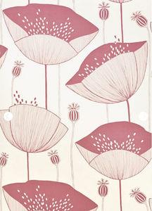 MissPrint - poppy blush - Papier Peint