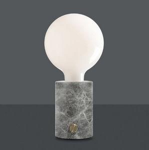 EDGAR - opaque - Lampe À Poser À Led