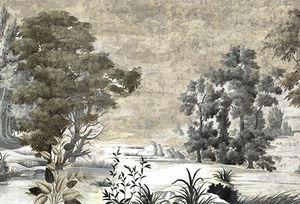 Ananbô - saint jean sépia patine xviiième - Papier Peint Panoramique