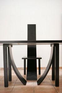 Partage Paris - chaise arqu�e simple - Chaise