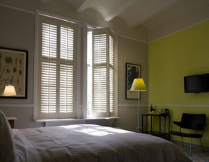Jasno Shutters - shutters persiennes mobiles - Réalisation D'architecte D'intérieur Chambre À Coucher