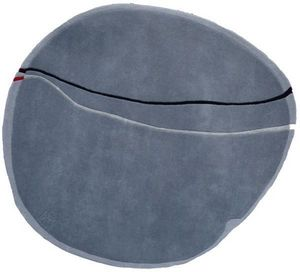 PASCALE GAUTHIER - galet gris - Tapis Contemporain