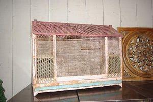 LE MARCHAND D'OUBLIS -  - Cage À Oiseaux